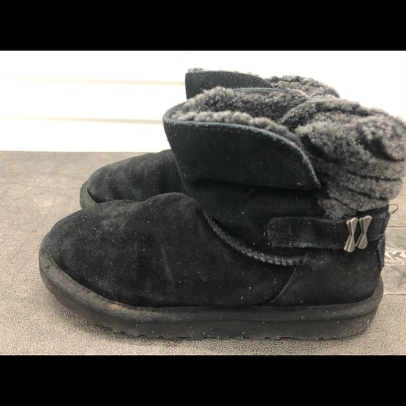 Black Short Boots Womens Size